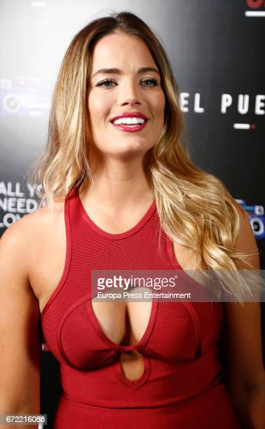 Alyson Eckmann attends Big Brother VIP party on April 21 2017 in Madrid Spain