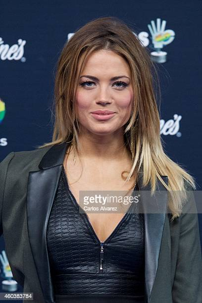 Alyson Eckmann attends the '40 Principales' awards 2013 photocall at the Barclaycard Center on December 12 2014 in Madrid Spain