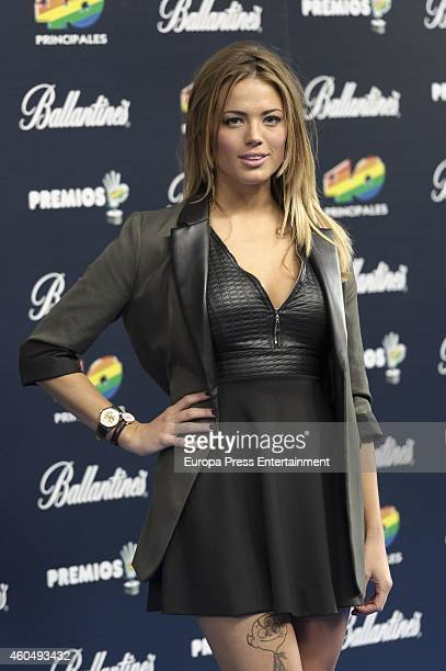 Alyson Eckmann attends the '40 Principales' awards 2014 ceremony on December 12 2014 in Madrid Spain