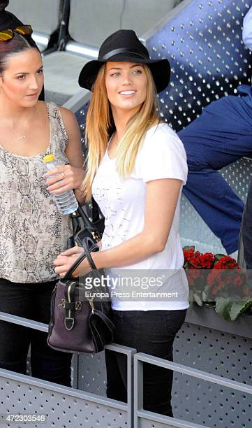 Alyson Eckmann attends the Mutua Madrid Open tennis tournament on May 5 2015 in Madrid Spain