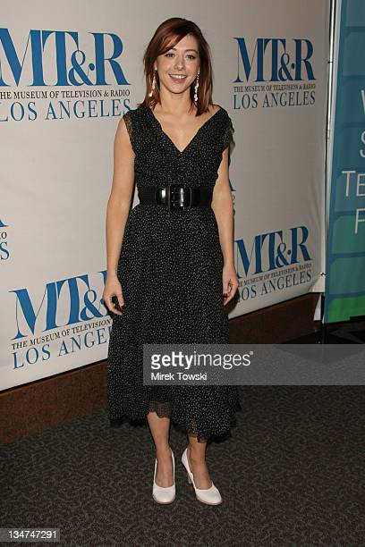 Alyson Hannigan during 23rd Annual William S Paley Television Festival 'How I Met Your Mother' at Directors Guild of America in Hollywood California...