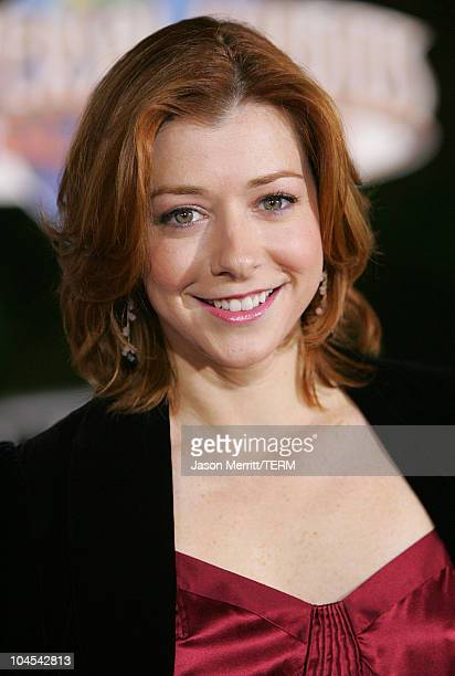 Alyson Hannigan during 'Serenity' Los Angeles Premiere at Universal City Cinemas in Universal City California United States