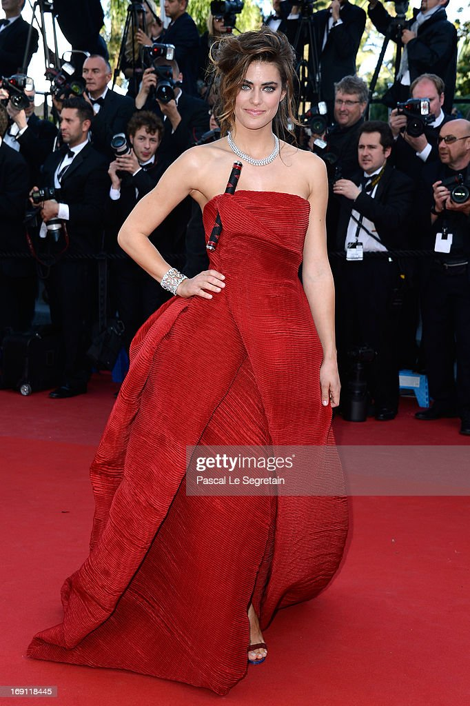 Alyson Le Borges attends the 'Blood Ties' Premiere during the 66th Annual Cannes Film Festival at the Palais des Festivals on May 20, 2013 in Cannes, France.