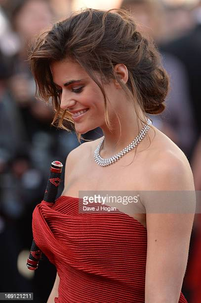 Alyson Le Borges attends the 'Blood Ties' Premiere during the 66th Annual Cannes Film Festival at Grand Theatre Lumiere on May 20 2013 in Cannes...