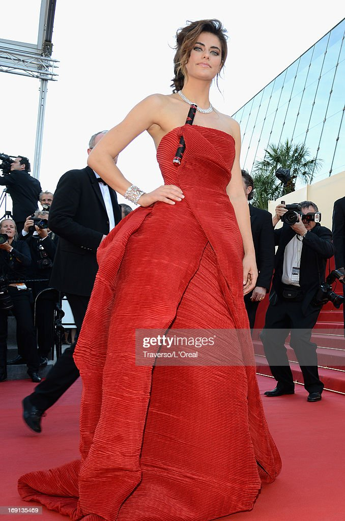Alyson Le Borges attends the 'Blood Ties' Premiere during the 66th Annual Cannes Film Festival at Grand Theatre Lumiere on May 20, 2013 in Cannes, France.