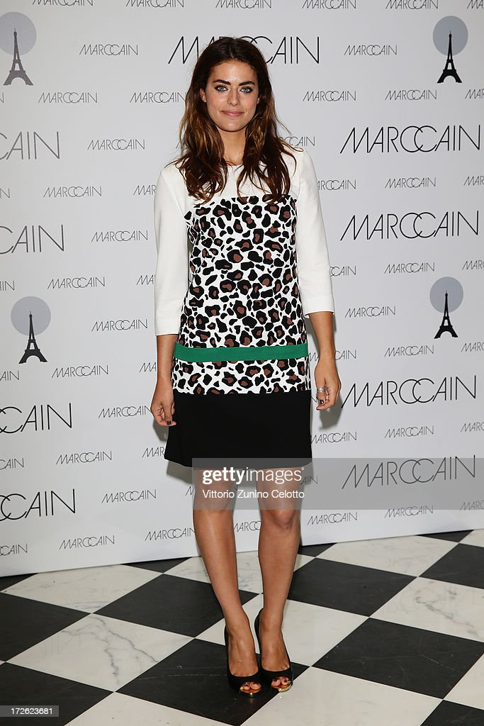 Alyson Le Borges attends the Marc Cain Photocall during the Mercedes-Benz Fashion Week Spring/Summer 2014 at the Hotel Adlon on July 4, 2013 in Berlin, Germany.