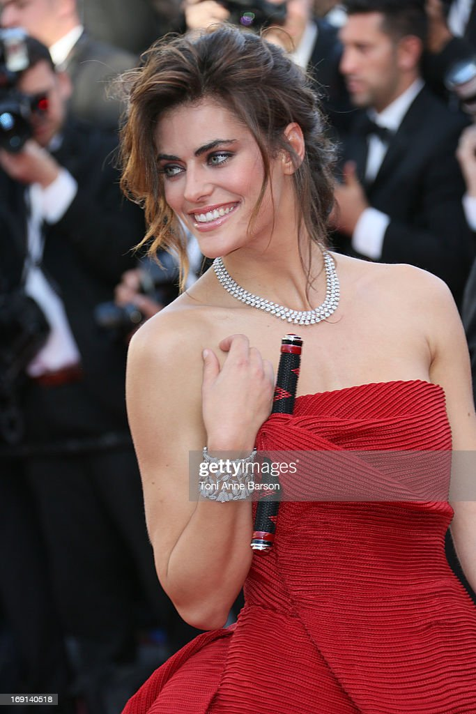 Alyson Le Borges attends the premiere of 'Blood Ties' during the 66th Annual Cannes Film Festival at the Palais des Festivals on May 20, 2013 in Cannes, France.