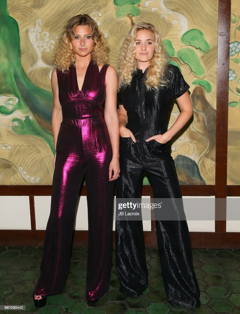 Alyson Michalka and AJ Michalka attend the Wolk Morais Collection 5 Fashion Show at Yamashiro on May 22, 2017 in Los Angeles, California.