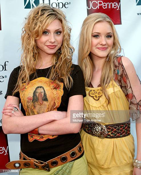 Alyson Michalka and Amanda Michalka aka Aly AJ