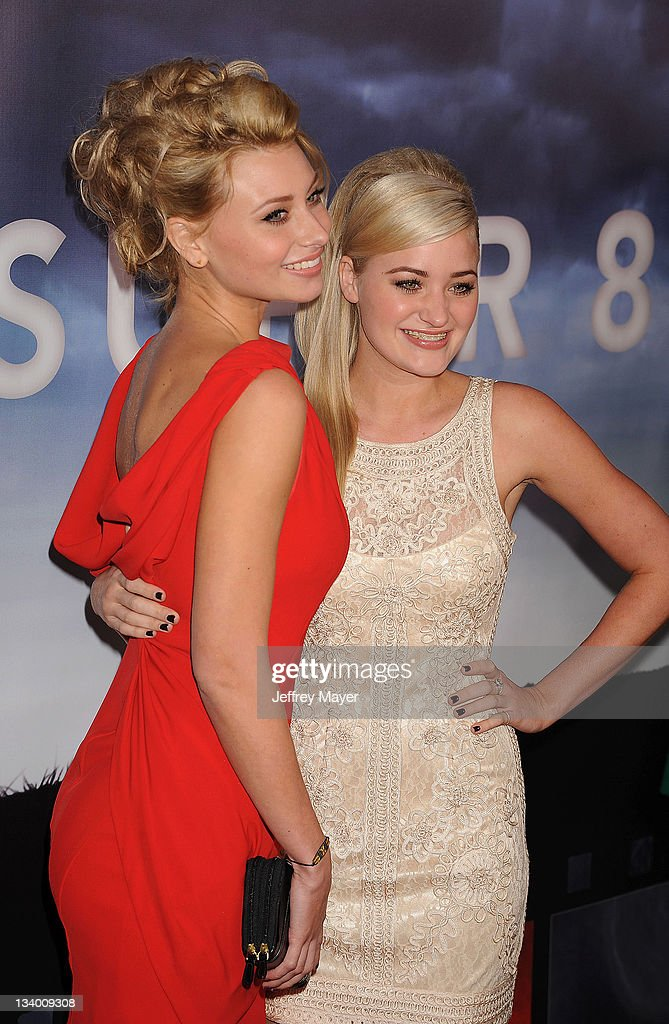 Alyson Michalka and Amanda Michalka arrive to Paramount Pictures' 'Super 8' Blu-ray and DVD release party at AMPAS Samuel Goldwyn Theater on November 22, 2011 in Beverly Hills, California.