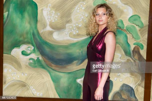 Alyson Michalka attends the Wolk Morais Collection 5 Fashion Show at Yamashiro Hollywood on May 22 2017 in Los Angeles California