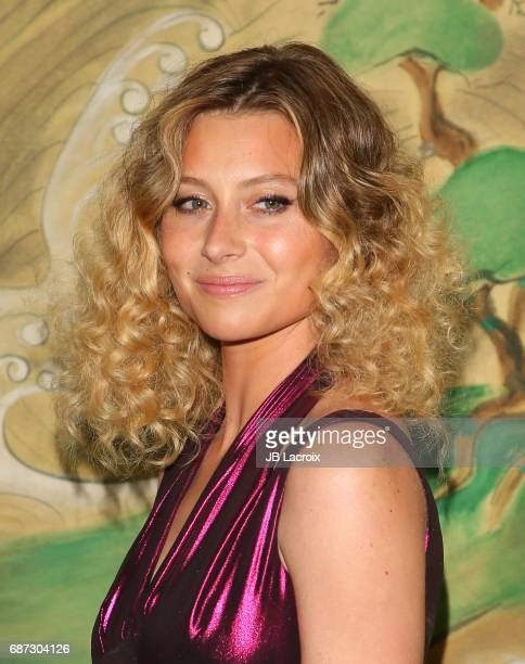 Alyson Michalka attends the Wolk Morais Collection 5 Fashion Show at Yamashiro on May 22 2017 in Los Angeles California