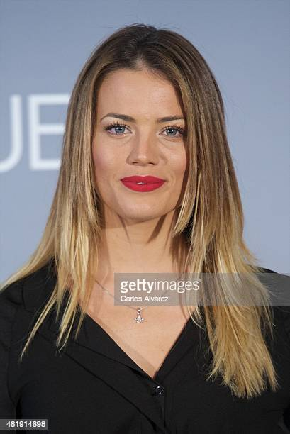Alyson Rae Eckmann attends 'No Llores Vuela' premiere at the Callao cinema on January 21 2015 in Madrid Spain