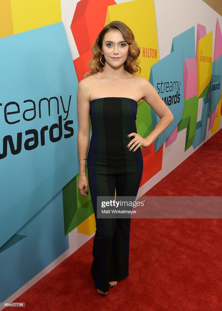 Alyson Stoner at the 2017 Streamy Awards at The Beverly Hilton Hotel on September 26, 2017 in Beverly Hills, California.