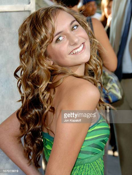 Alyson Stoner during 'Step Up' Los Angeles Premiere Arrivals at ArcLight Theater in Hollywood California United States
