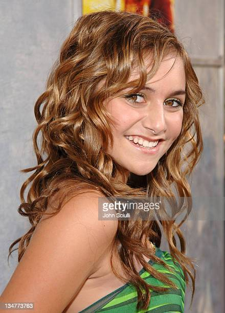 Alyson Stoner during 'Step Up' Los Angeles Premiere Red Carpet at The Arclight in Hollywood California United States