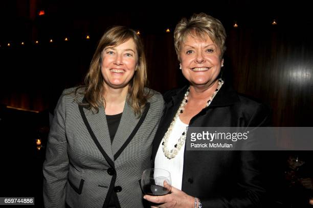 Alyssa Adams and Loretta Anderson attend PARADE MAGAZINE and SI Newhouse Jr honor Walter Anderson at The 4 Seasons Grill Room on March 31 2009 in New...
