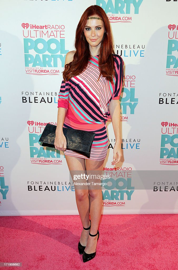 <a gi-track='captionPersonalityLinkClicked' href=/galleries/search?phrase=Alyssa+Campanella&family=editorial&specificpeople=7480512 ng-click='$event.stopPropagation()'>Alyssa Campanella</a> attends iHeartRadio Ultimate Pool Party Presented By VISIT FLORIDA at Fontainebleau Miami Beach on June 29, 2013 in Miami Beach, Florida.