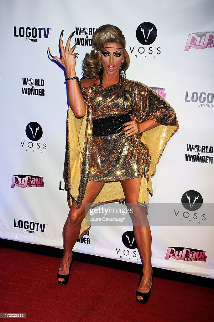 Alyssa Edwards attends Logo TV's Official Pride NYC 2013 Event at Highline Ballroom on June 30, 2013 in New York City.
