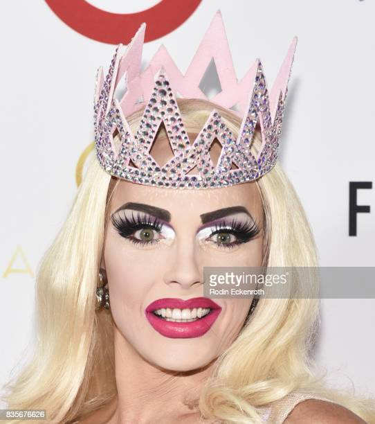 Alyssa Edwards attends NYX Professional Makeup's 6th Annual FACE Awards at The Shrine Auditorium on August 19 2017 in Los Angeles California
