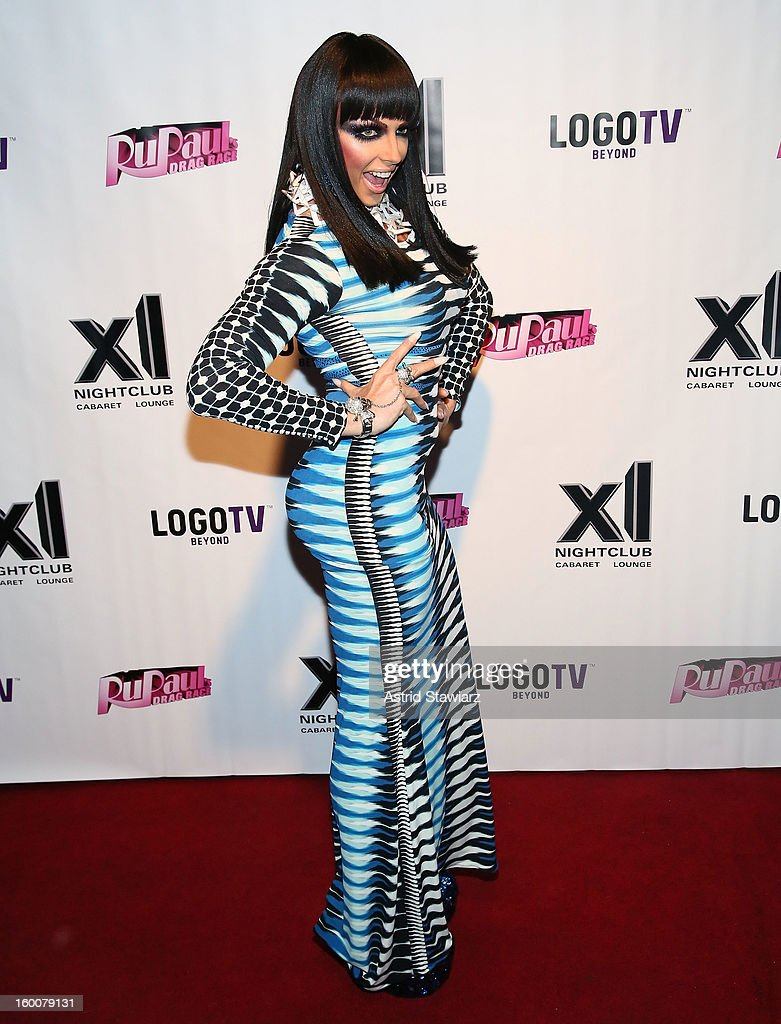 Alyssa Edwards attends 'Rupaul's Drag Race' Season 5 Premiere Party at XL Nightclub on January 25, 2013 in New York City.
