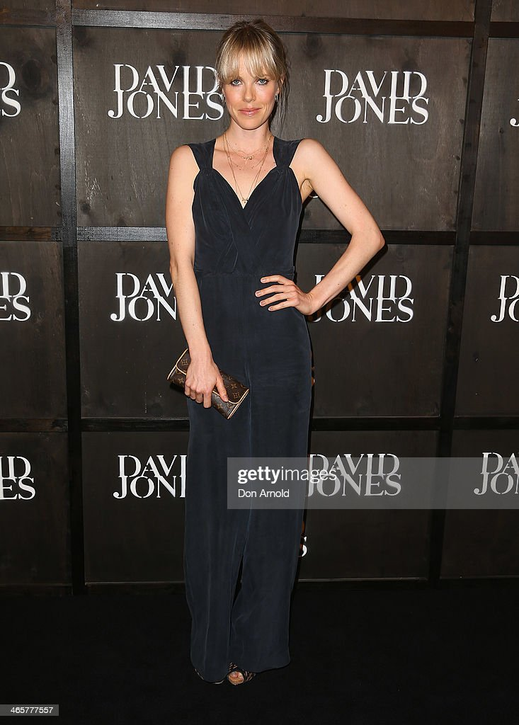 <a gi-track='captionPersonalityLinkClicked' href=/galleries/search?phrase=Alyssa+McClelland&family=editorial&specificpeople=634310 ng-click='$event.stopPropagation()'>Alyssa McClelland</a> arrives at the David Jones A/W 2014 Collection Launch at the David Jones Elizabeth Street Store on January 29, 2014 in Sydney, Australia.