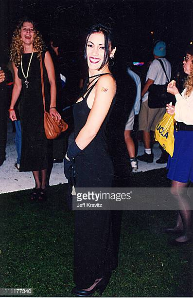 Alyssa Milano during 1992 MTV Video Music Awards in Los Angeles California United States