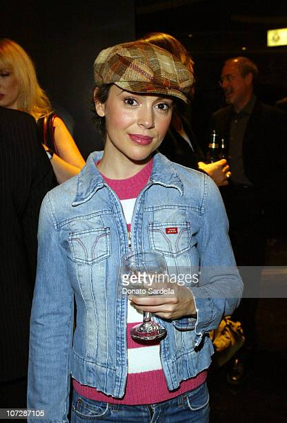 Alyssa Milano during Miss Sixty Energie Los Angeles Store Opening Event Hosted by OutKastInside And After Party at Miss Sixty Store in West Hollywood...