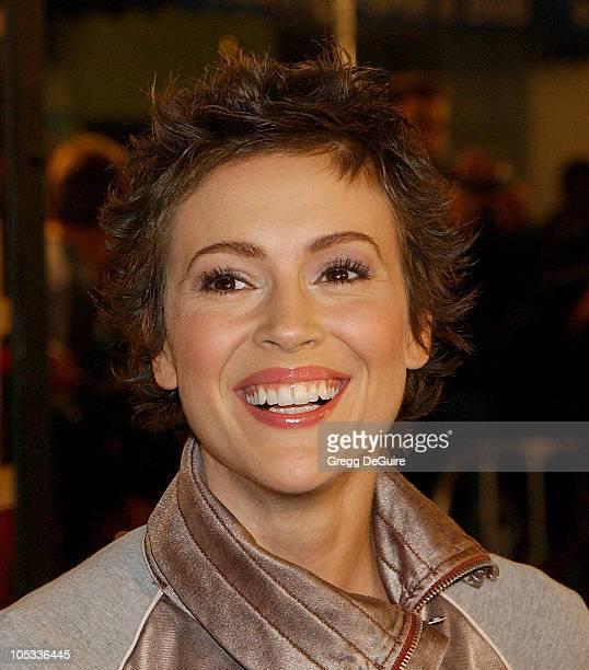 Alyssa Milano during 'The Last Samurai' Los Angeles Premiere at Mann Village Theatre in Westwood California United States