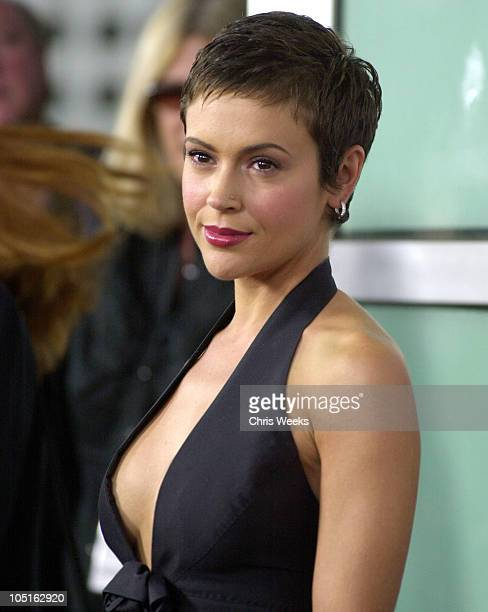 Alyssa Milano during World Premiere of 'Dickie Roberts Former Child Star' at Cinerama Dome in Hollywood California United States