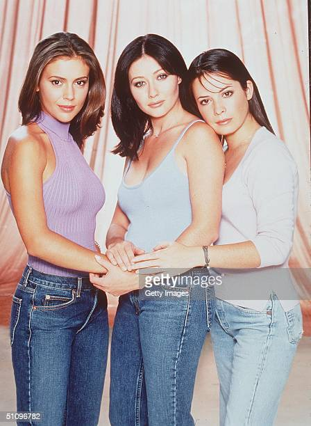 Alyssa Milano Shannen Doherty And Holly Marie Combs Star In 'Charmed'
