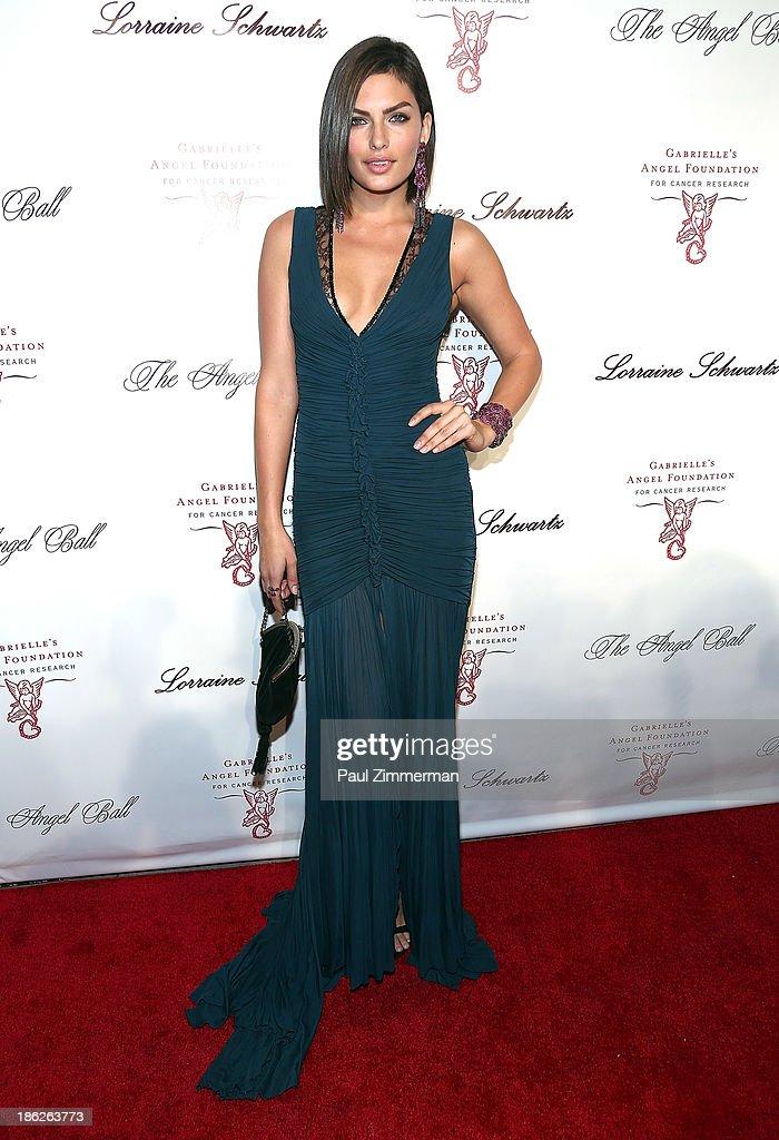 Alyssa Miller attends Angel Ball 2013 at Cipriani Wall Street on October 29, 2013 in New York City.