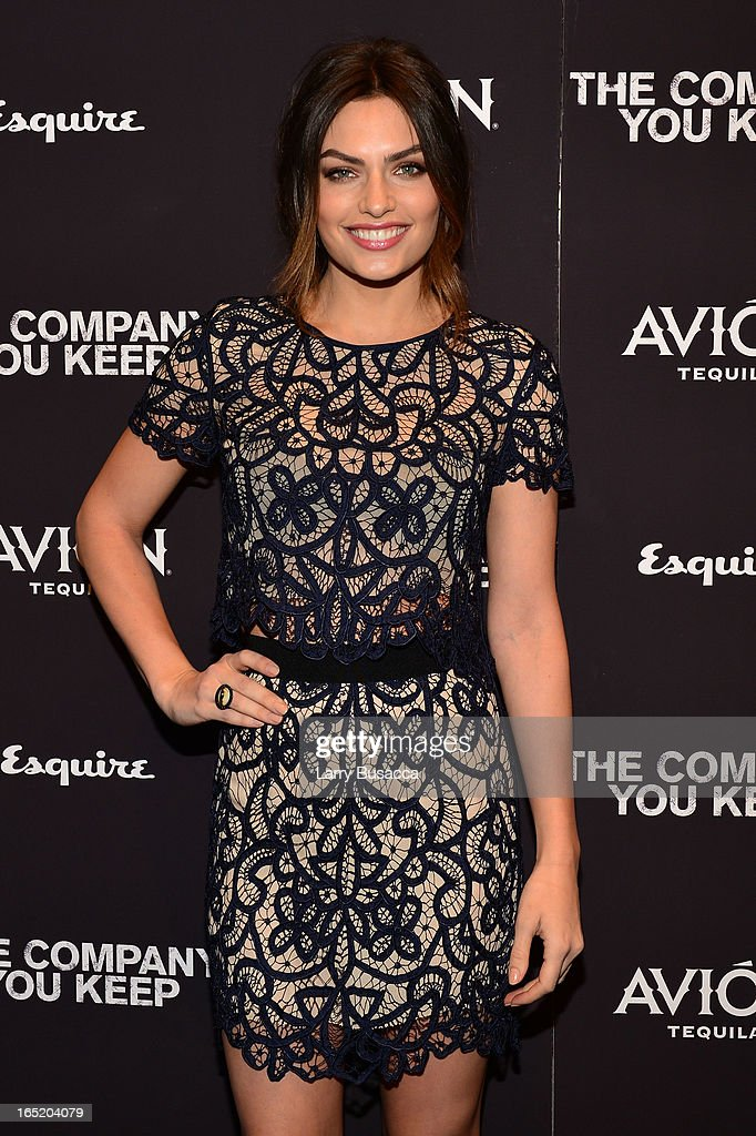 Alyssa Miller attends 'The Company You Keep' New York Premiere at The Museum of Modern Art on April 1, 2013 in New York City.