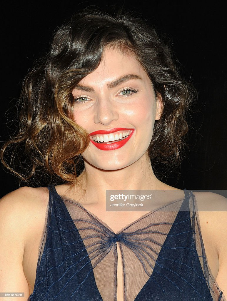 Alyssa Miller attends the New Yorkers for Children 10th Anniversary Spring Dinner Dance New Year's in April: A Fool's Fete to benefit youth in foster care presented by Valentino at Mandarin Oriental Hotel on April 9, 2013 in New York City.