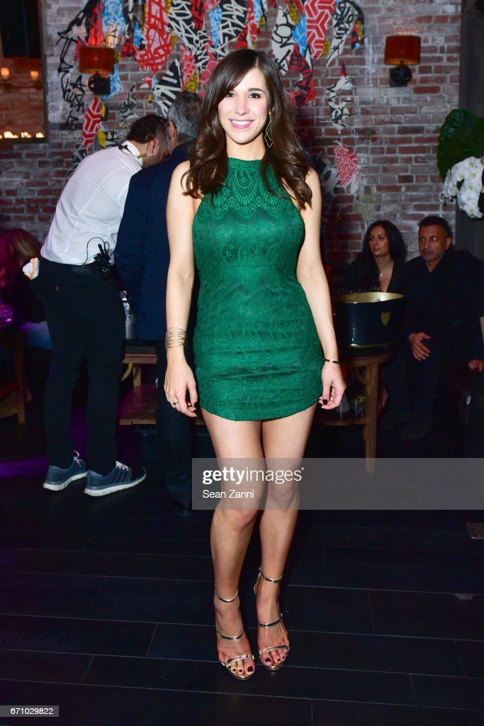 Alyssa Murphy attends the after party of the premiere of FLOWER for the Tribeca Film Festival at TAO Downtown on April 20, 2017 in New York City.