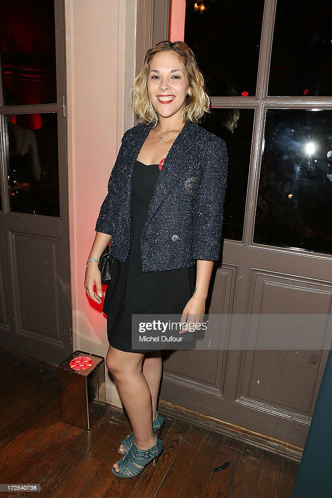 Alysson Paradis attends the 'Lancome Show by Alber Elbaz' at Le Trianon on July 2, 2013 in Paris, France.