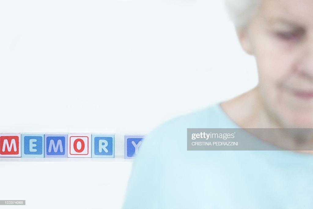 Alzheimer's disease, conceptual image