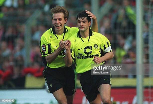 Joerg HEINRICH und Michael ZORC/Saison 96/97