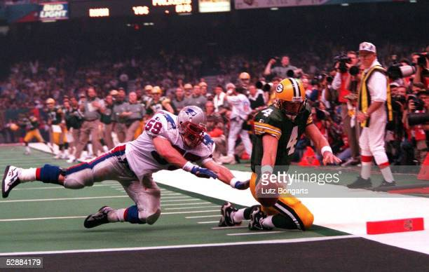 21 am 260197 TOUCHDOWN Brett FAVRE NR4