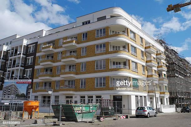 Am Ende der Revaler Strasse / Ecke Doeringstrasse Naehe Ostkreuzentsteht ein grosser Komplex WohnungsNeubau links imBild unter dem Namen Revaler...