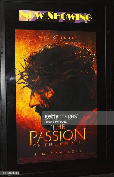 1030 am first screening of 'The Passion of the Christ' at the Mann Agoura Hills 8 Cinema Center in Agoura Hills the town where Mel Gibson paid over...