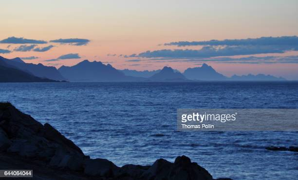 3 am light on the Lofoten Islands
