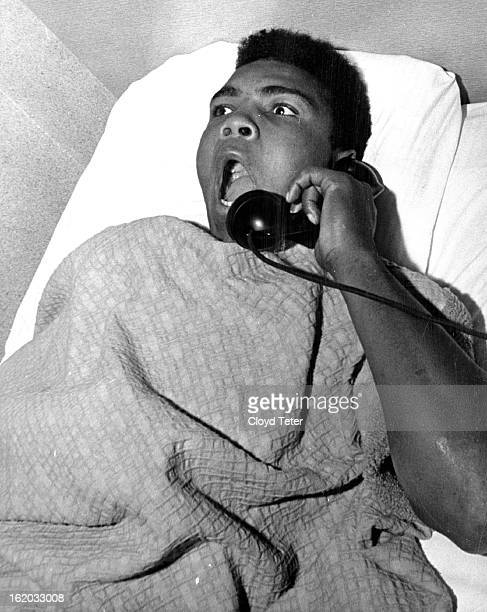 NOV 5 1963 'I Am the Greatest What time is it' After a night of making Denver and Sonny Liston in particular aware of his presence Cassius Clay and...