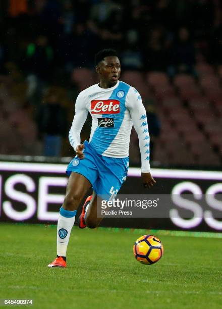 Amadou Diawara during the Italian Serie A soccer match between SSC Napoli and Atalanta at the San Paolo stadium Atalanta beats Napoli at San Paolo...