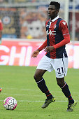 Amadou Diawara of Bologna FC in action during the Serie A match between Bologna FC and US Citta di Palermo at Stadio Renato Dall'Ara on October 18...