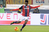 Amadou Diawara of Bologna FC in action during the Serie A match between Bologna FC and FC Internazionale Milano at Stadio Renato Dall'Ara on October...