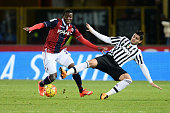 Amadou Diawara of Bologna FC in action during the Serie A match between Bologna FC and Juventus FC at Stadio Renato Dall'Ara on February 19 2016 in...