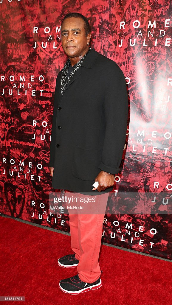 Amahad Rashad attends the 'Romeo And Juliet' Broadway Opening Night at Richard Rodgers Theatre on September 19, 2013 in New York City.
