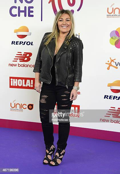 Amaia Montero attends the 'Cadena 100 Por Etiopia' concert photocall at the Barclaycard Center on March 21 2015 in Madrid Spain