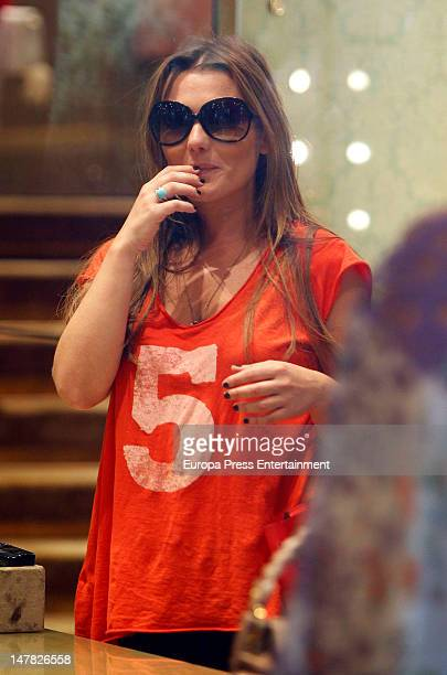 Amaia Montero is seen on July 3 2012 in Madrid Spain